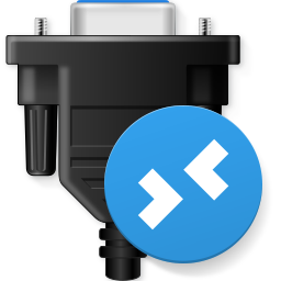 Serial Port for Remote Desktop Icon PNG 256x256